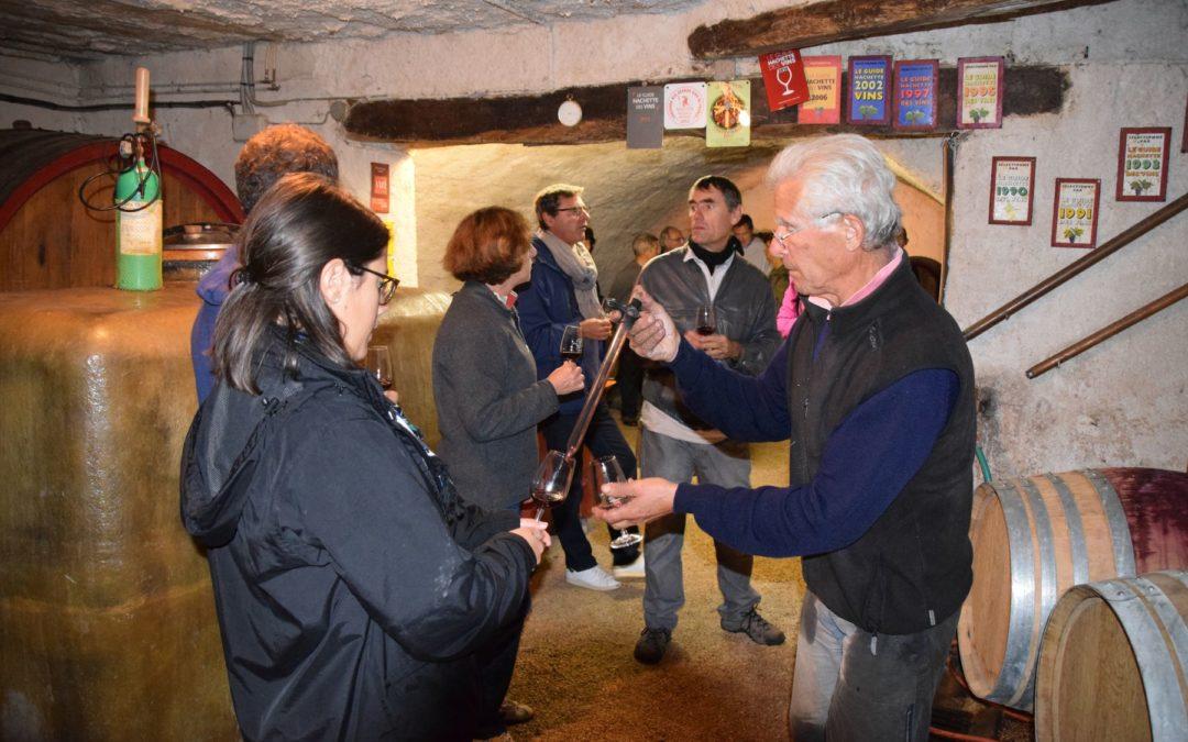 Vendanges au Domaine de Côtes REMONT (Chénas).