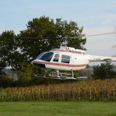 Covigneron vol hélicoptère Saint Emilion