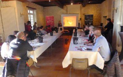 Initiation aux assemblages et dégustation des vins.