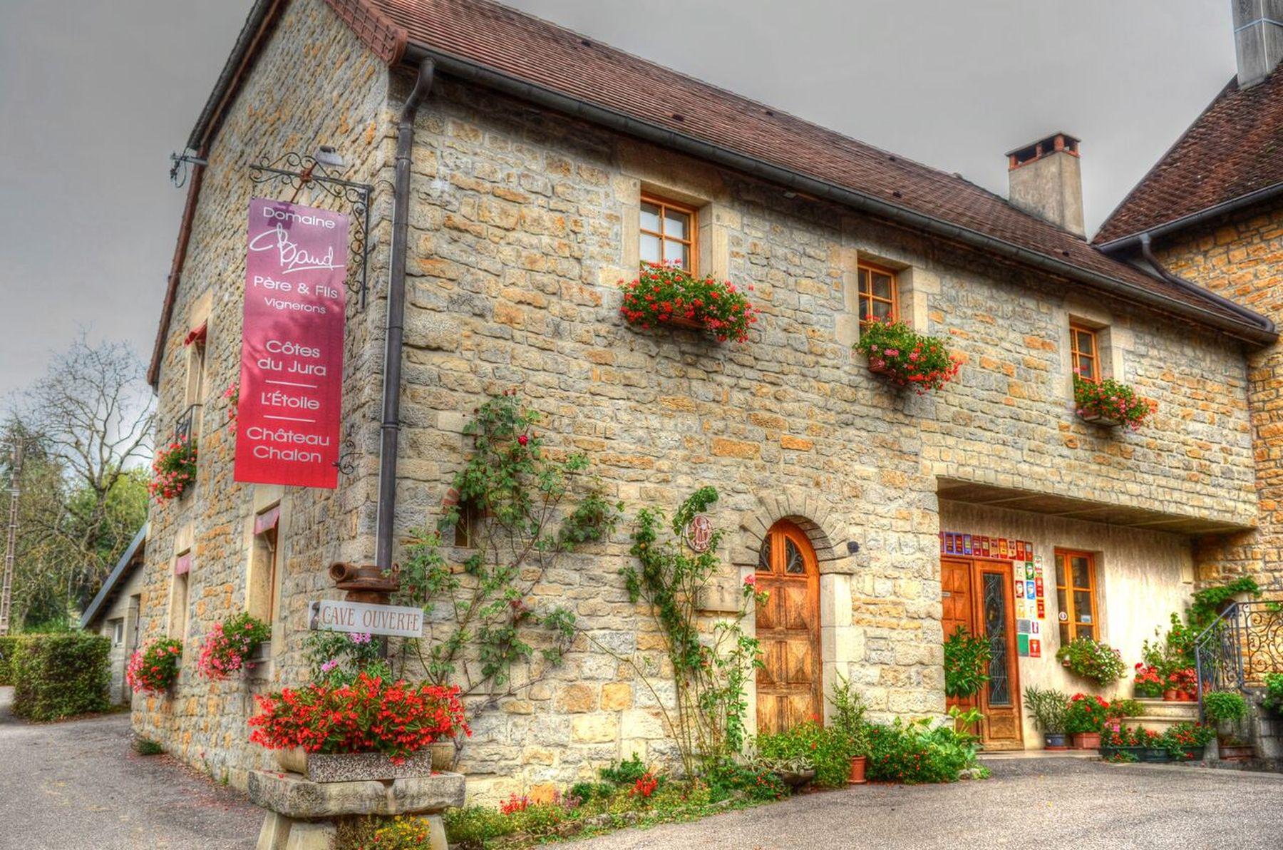 Domaine Baud (39), AOC des vins du Jura.