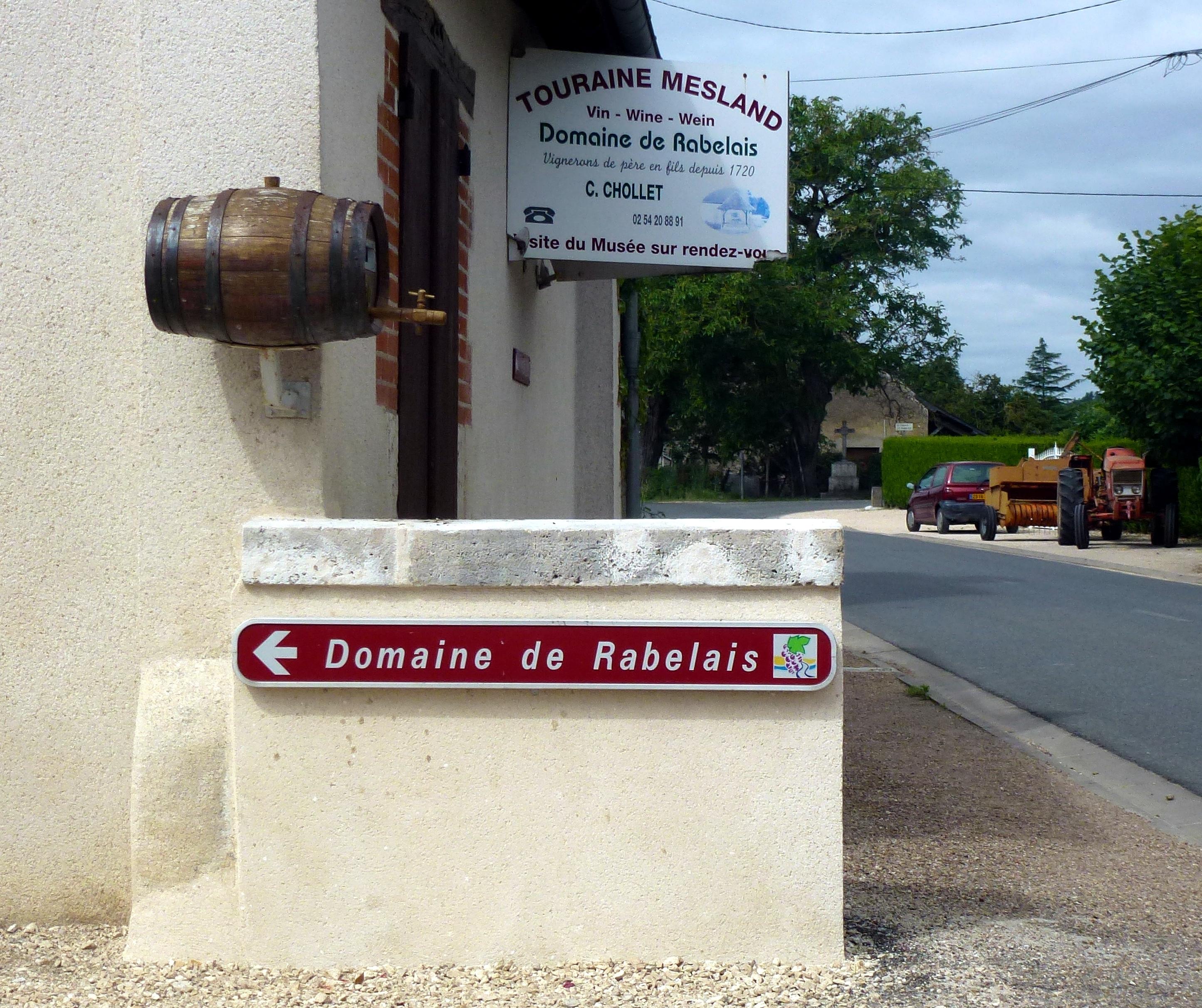 Domaine de Rabelais à Onzain (41) - AOP Touraine Mesland