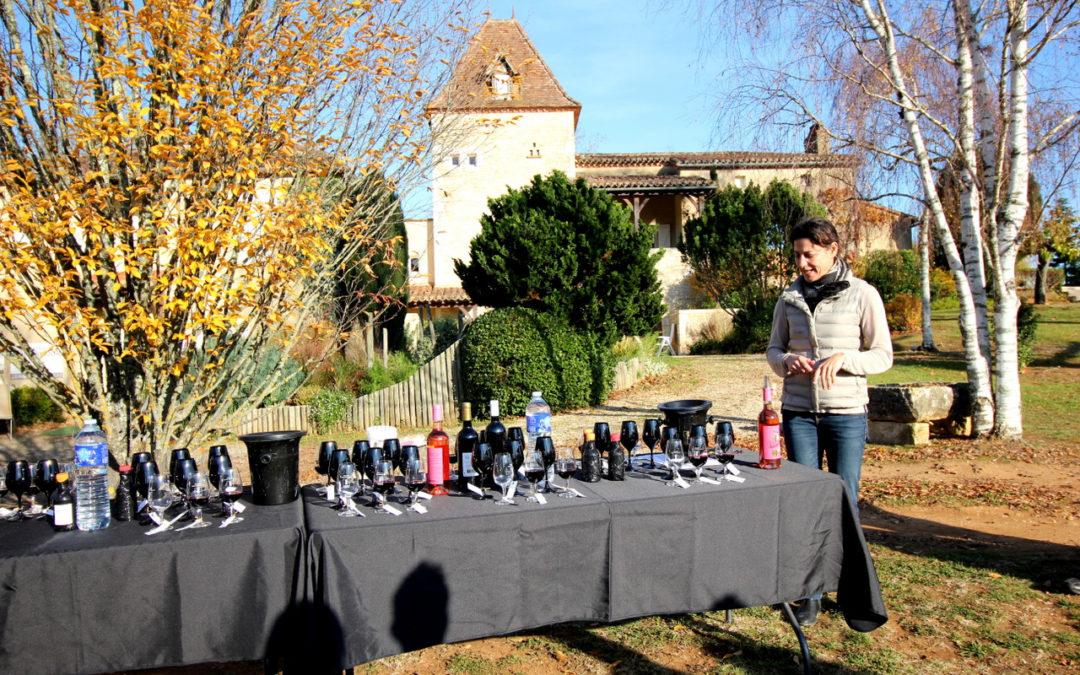 Découverte du Millésime au Château Saint Sernin