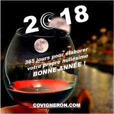 Covigneron vous souhaite une bonne année 2018 !