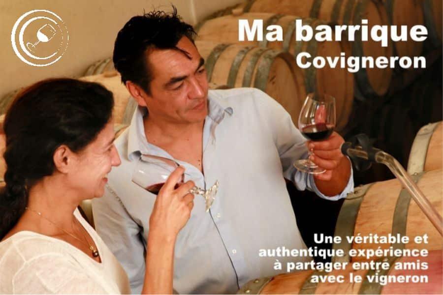Ma barrique Covigneron : produire son propre vin