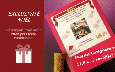 Exclusivité Noël : le magnet Covigneron en cadeau