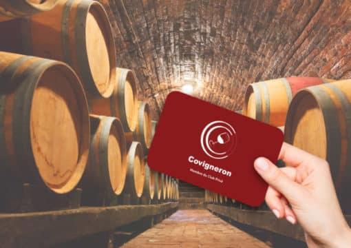 Carte membre Club Privé Covigneron