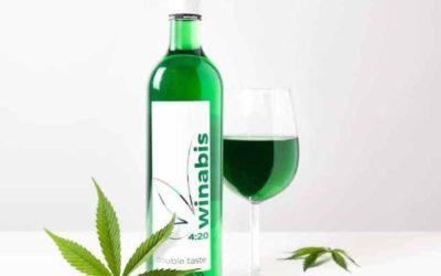 Winabis, le vin goût cannabis
