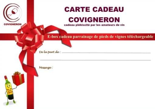 Carte cadeau ebox Covigneron