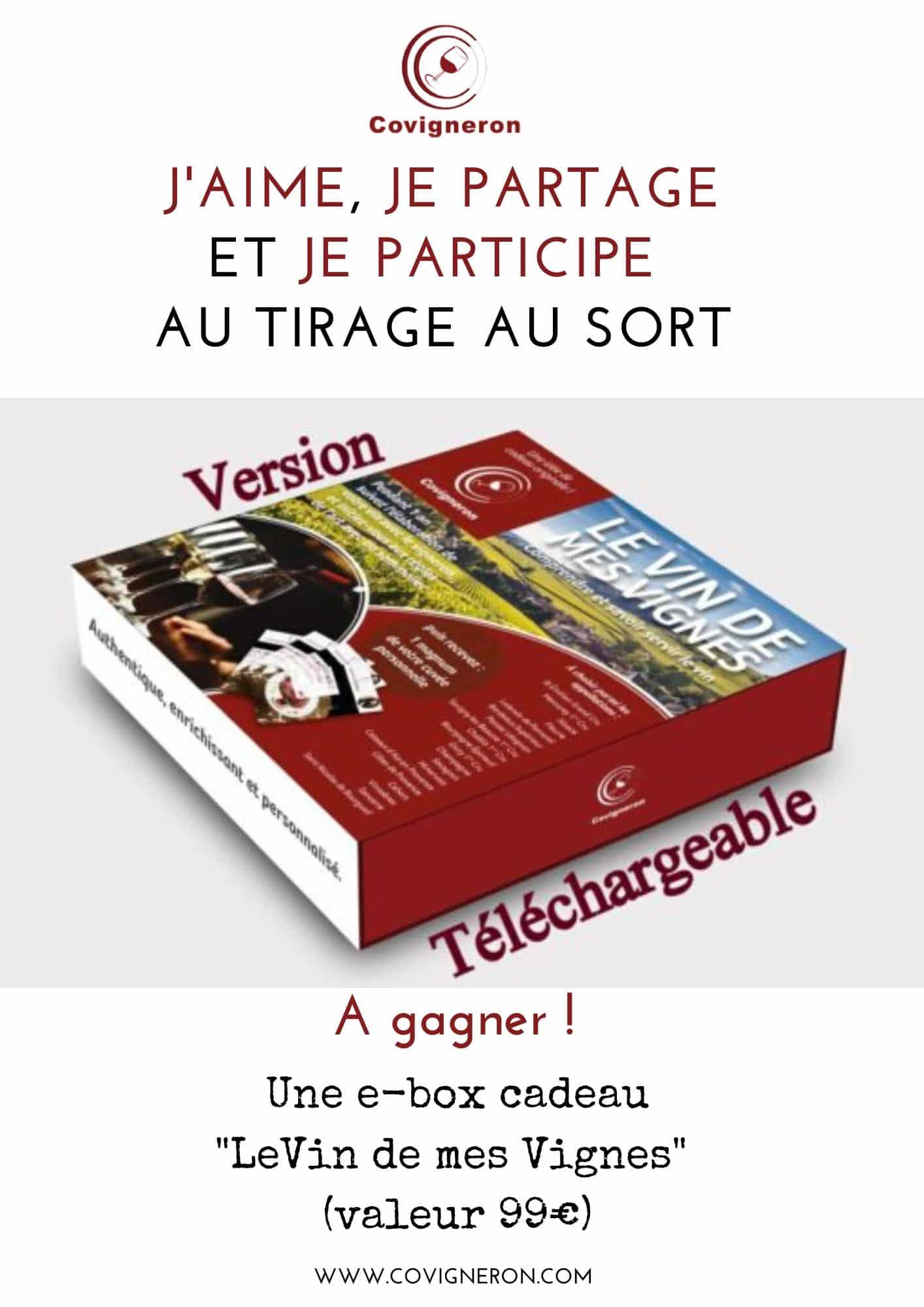 jeu concours Covigneron Le Vin de mes Vignes