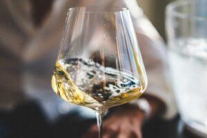 verre de vin qui bouge